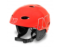 NP helm - Fluoro Red