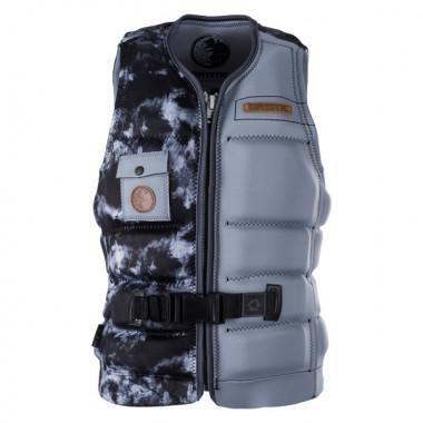 MysticCable Rats Wakeboard Impact Vest Front-zip