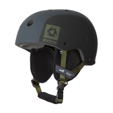 Mystic MK8 Black wakeboard helm