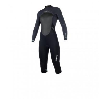 Mystic Brand 3/2 Longarm Shortleg Backzip dames wetsuit 2018