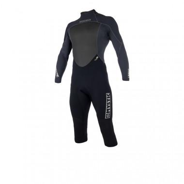 Mystic Brand 32 Longarm Shorty Backzip Black wetsuit 2018