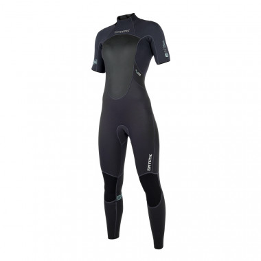 Mystic Brand 32 Shortarm Backzip dames wetsuit 2018