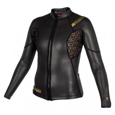 Mystic Diva Black Series Longsleeve Jacket 2 mm 2018