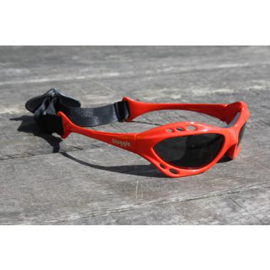 Glogglz Rayz Rood watersport zonnebril