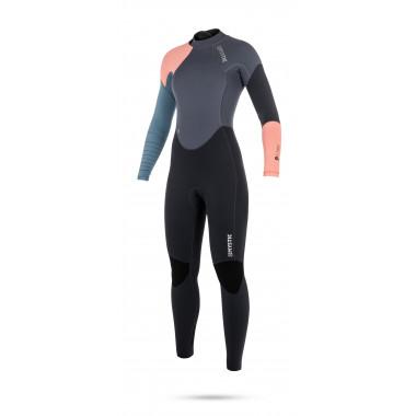Mystic Dutchess 5/4 Backzip Pewter dames wetsuit 2018
