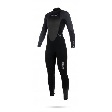 Mystic Star 5/4 Backzip Black-Grey dames wetsuit 2018