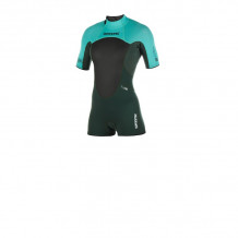 Mystic Brand 3/2 Backzip Teal Shorty wetsuit 2019