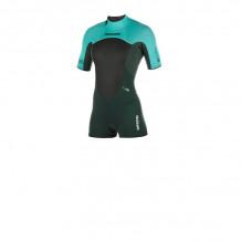 Mystic Brand 3/2 Backzip Teal Shorty wetsuit 2019