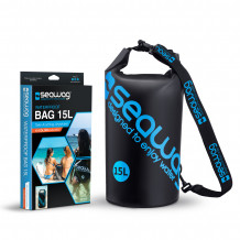 Seawag Dry Bag 15 liter Black-Blue