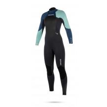 Mystic Star 3/2 Backzip Navy dames wetsuit 2018